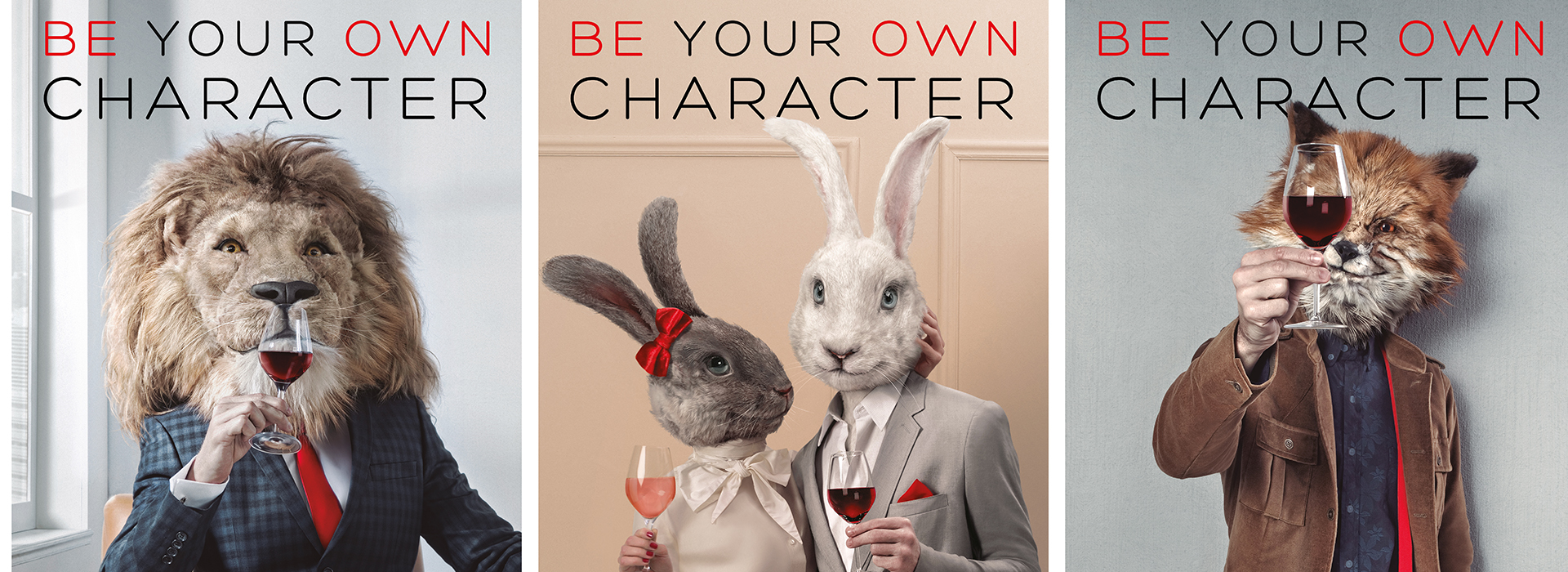 Key visual: Be You Own Character