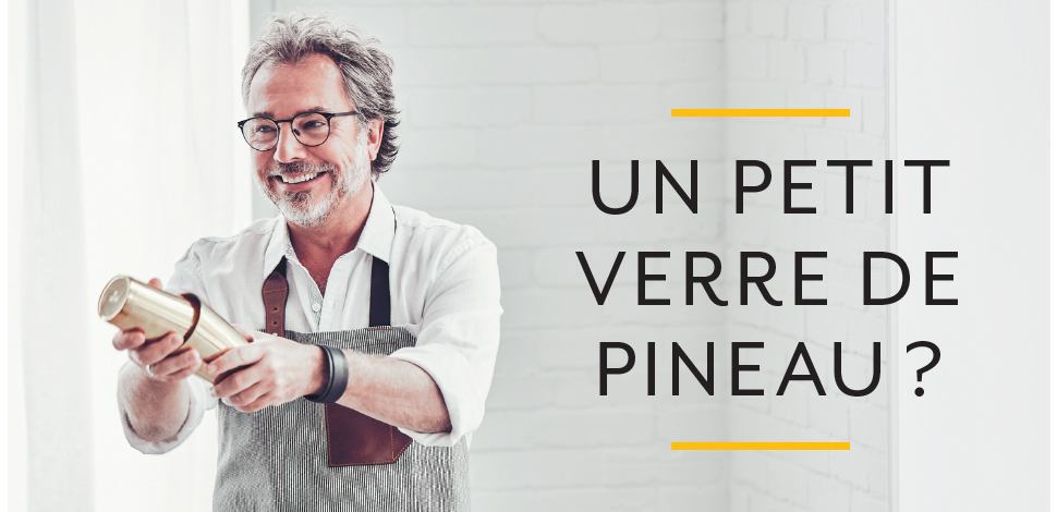 "Key Visual : ""Un petit verre de Pineau ?"""