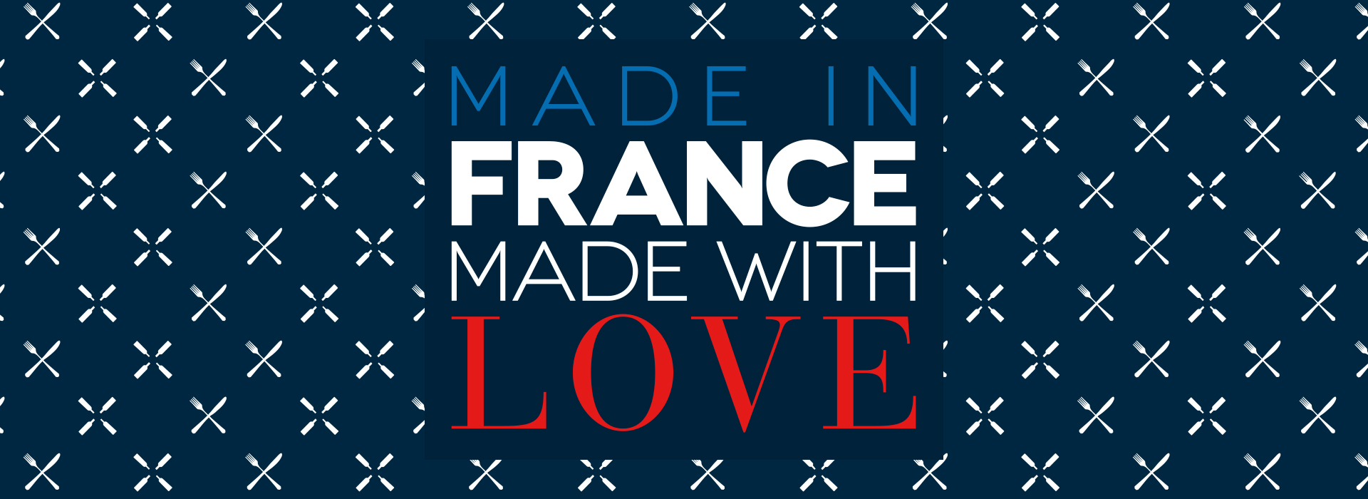 Key visual : Made in France Made with Love