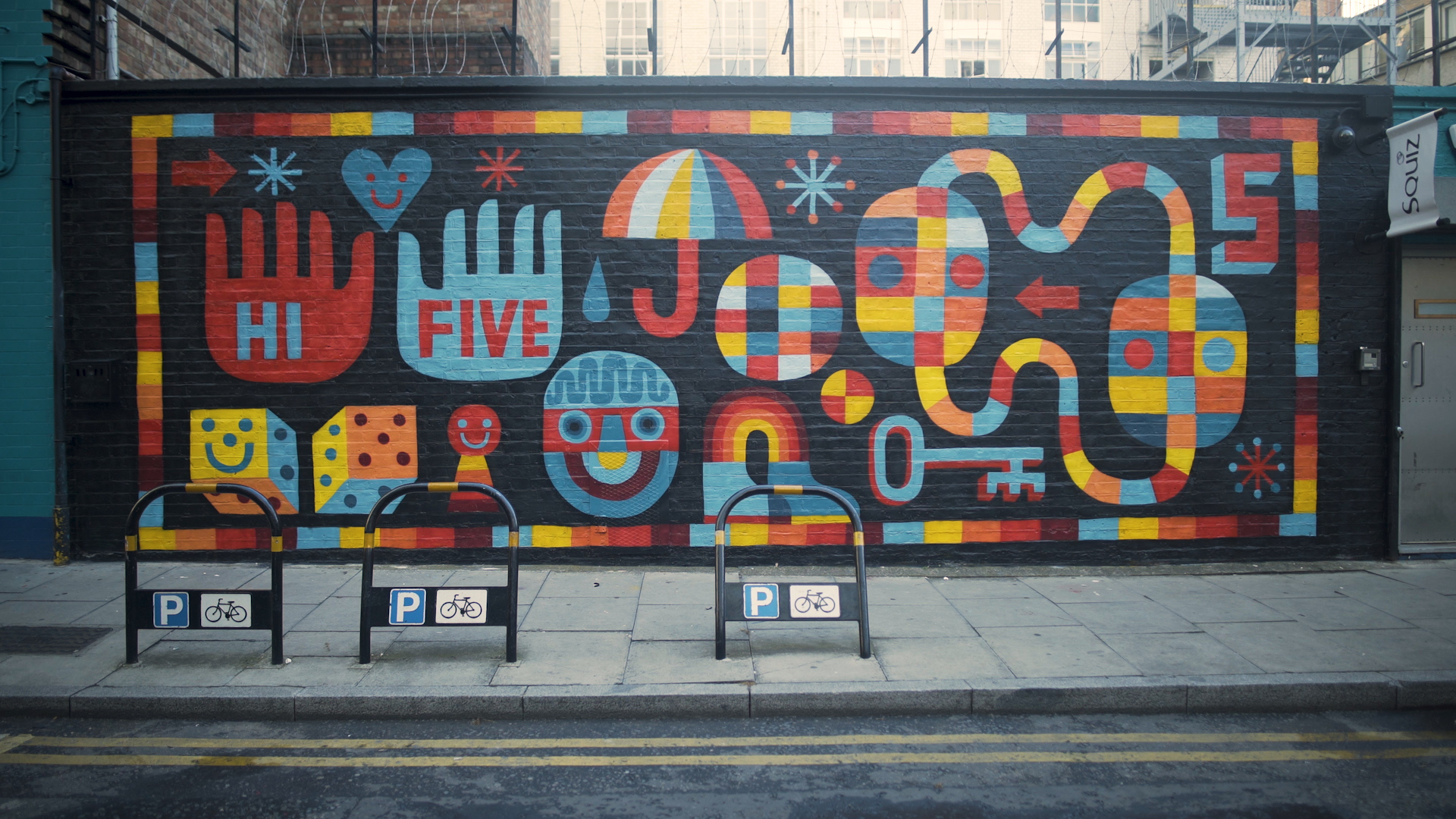 Label 5 makes its mark worldwide with street art