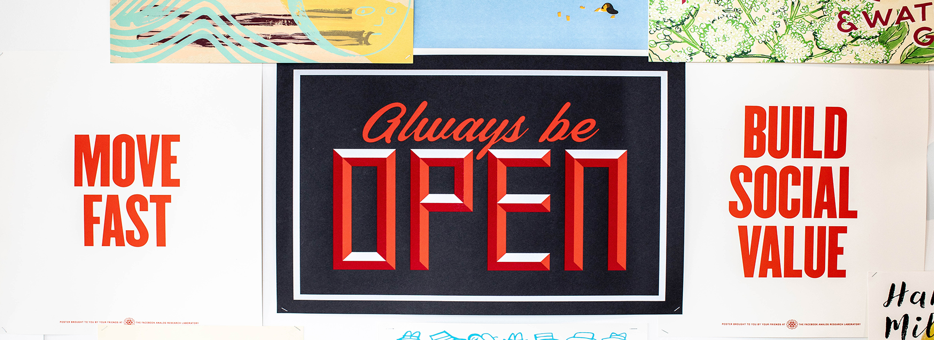 Always be open (words)