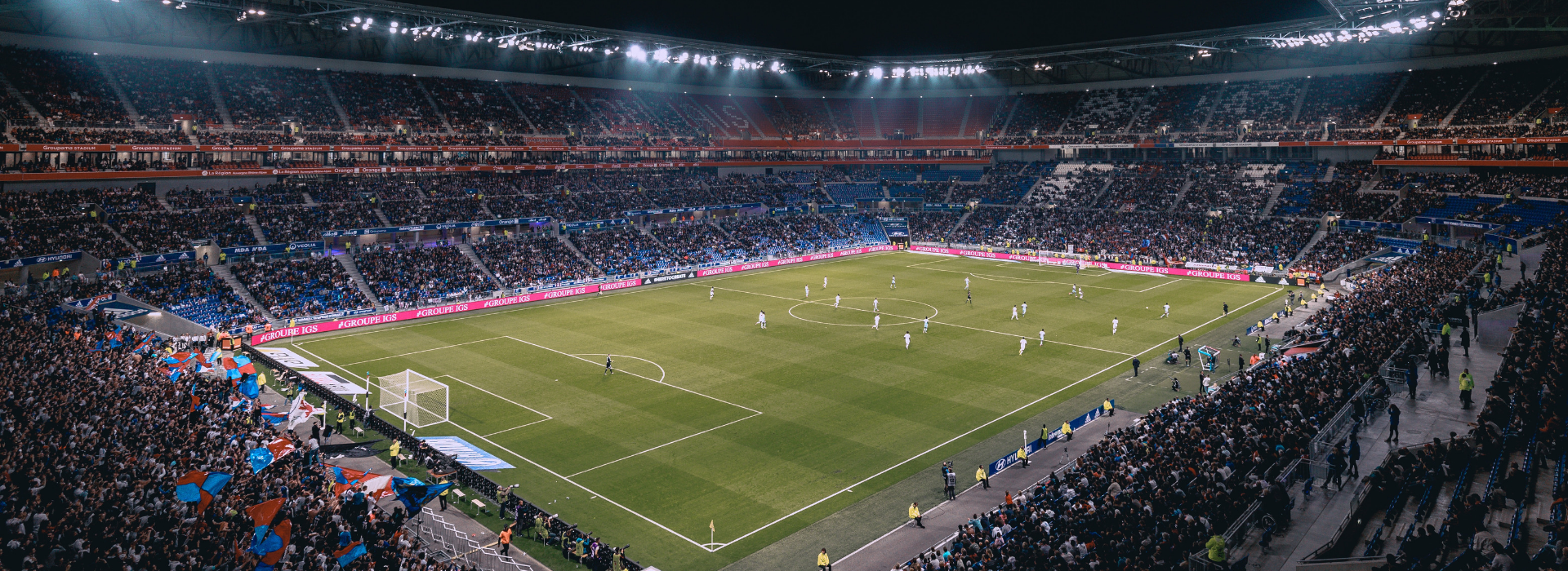 Groupama Stadium in Lyon